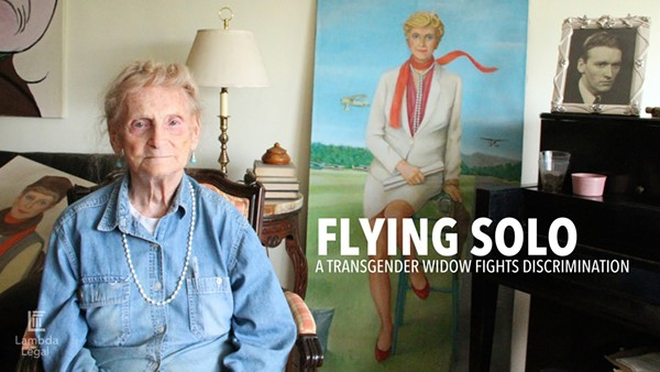 Flying Solo: A Transgender Widow Fights Discrimination